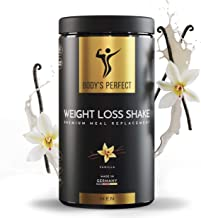 Shake Powder Meal Replacement for Men – High Quality Certified Protein Shake with Essential Vitamins and Minerals Healthy Tasty Weight Loss Formula – 500 gr Vanilla Estimated Price : £ 34,90