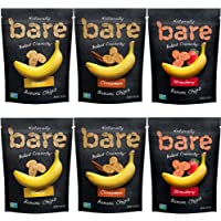 6-Count Bare Baked Crunchy Banana Chips Variety Pack