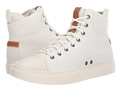Polo Ralph Lauren Delaney (Egret Canvas/Leather) Men