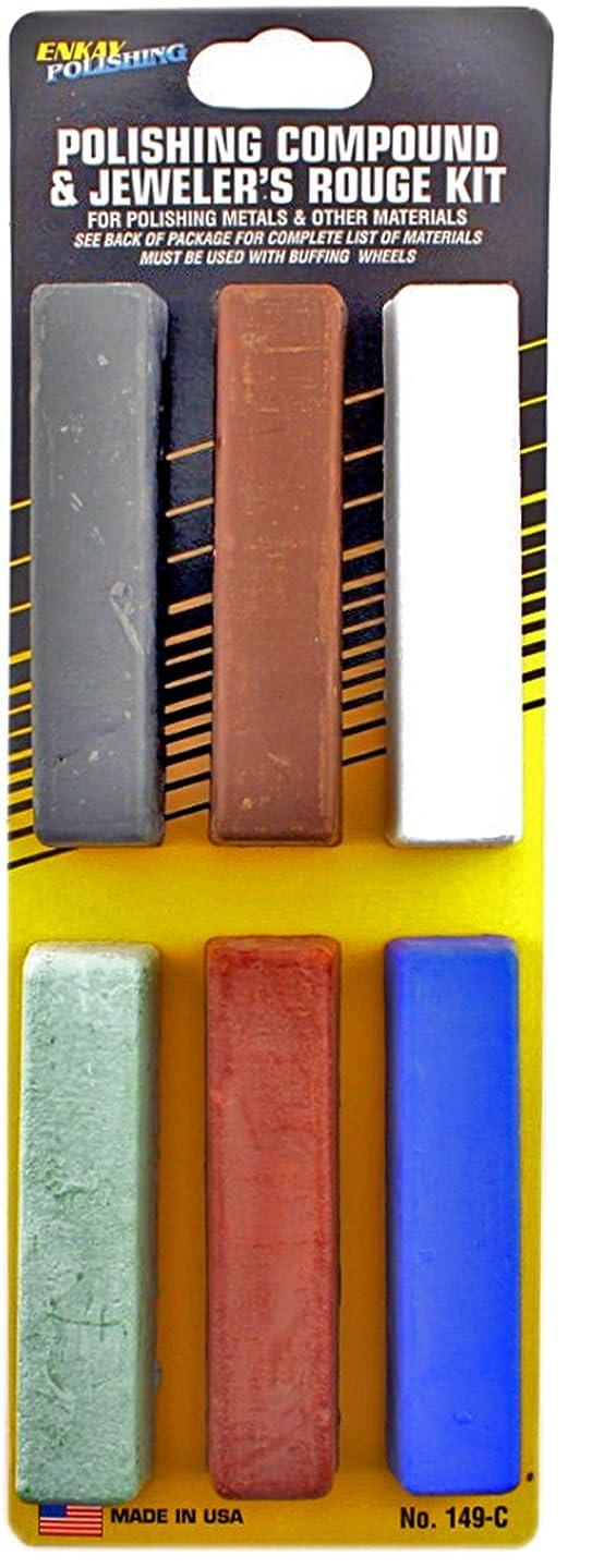Enkay 149-C Polishing Compound Kit, carded
