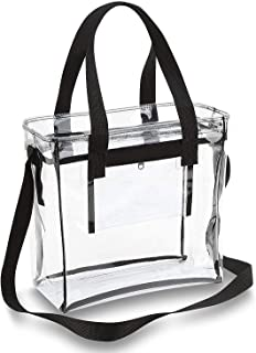 tote with clear pockets