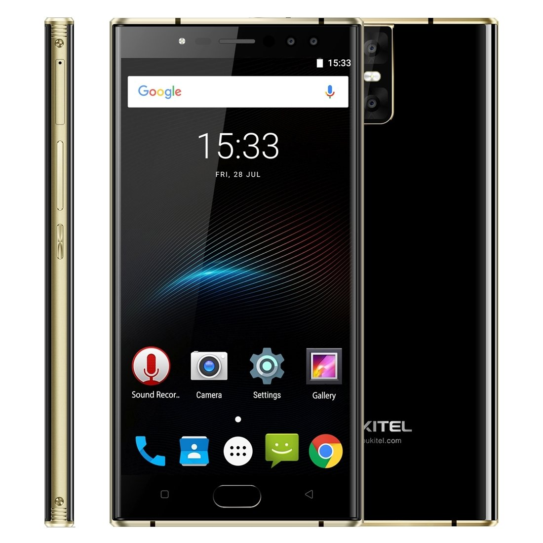 OUKITEL K3-4G Smartphone Libre (Android 7.0, 5.5