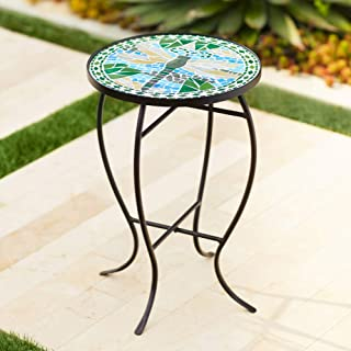 small tile top table