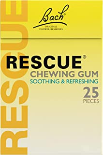 Nelsons Rescue Remedy Rescue Chewing Gum Spearmint 25 Pieces