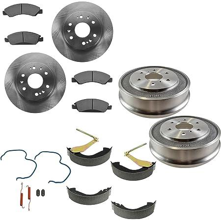 SMD1274H Rear Semi-Metallic Brake Pads+Hardware