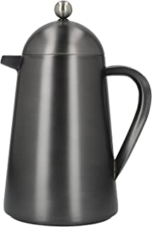La Cafetière Edited Thermique Insulated Cafetière/French Press Coffee Maker, 1 L (8 Cup) - Gun Metal