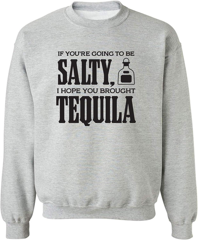 Salty Tequila Crewneck Sweatshirt