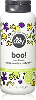 SoCozy Boo! Lice Scaring Conditioner - Clinically Proven to Repel Lice without Any Harsh Chemicals - 8 Fluid Ounces