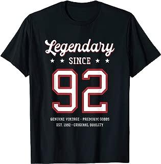 27th Birthday Gift Legendary Since 1992 T-Shirt