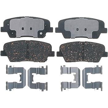 ACDelco 14D812CH Advantage Ceramic Front Disc Brake Pad Set