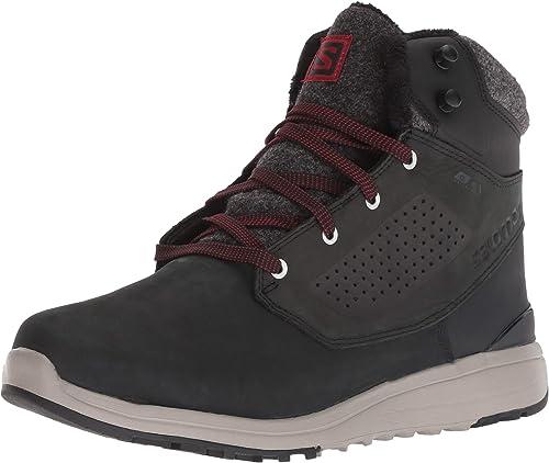 Sañomon Utility Winter CS WP Schuh 2019 negro negro rojo Dahlia