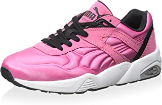 PUMA Women R698 Matt & Shine WN's - Rose, Black, White 360800-06 Fashion