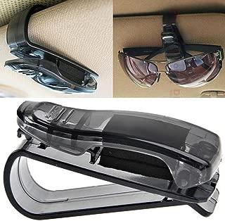 LtrottedJ Car Sun Visor Glasses Sunglasses Ticket,Receipt Card Clip Storage Holder