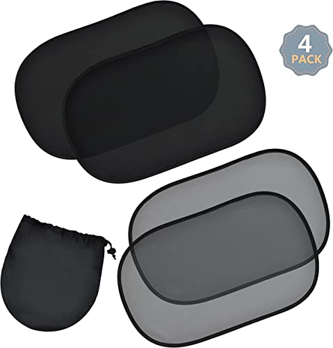 """wholesale EcoNour Car Side Window Shade - 25""""x16"""" XL (4 Pack) 