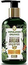 Himalayan Organics Moroccan Argan Oil Shampoo for Hair Growth - No Parabens & No Sulphate, 300 ml