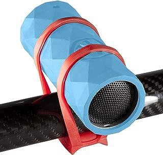 Outdoor Tech OT1301 Buckshot - Super-Portable Rugged Water-Resistant Wireless Bluetooth Speaker (Electric Blue)