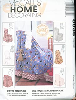 McCall's 8036 Sewing Pattern Chair Covers