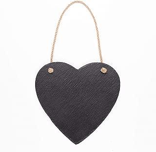 mini slate hearts