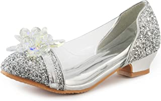 FUNNA Princess Shoes for Girls Dress Up Wedding Party