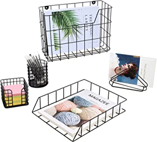 INNO STAGE Office Desk Organizer Set, Office & School Supply Organizers, Set of 5 Desk Supply Organizers, Includes Pen Hol...