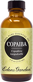 Edens Garden Copaiba Essential Oil, 100% Pure Therapeutic Grade (Highest Quality Aromatherapy Oils- Inflammation & Pain), 118 ml