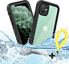 "BDIG Funda iPhone 11 Impermeable, [Anti-rasguños][Protección de 360 Grados],Case Protectora con Protector de Pantalla Incorporado para iPhone 11 Case 6.1 Inch 2019 (FOR iPhone11 6.1"", Negro)"