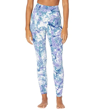 manduka Performance Leggings (Aurora Be Bold Blue) Women