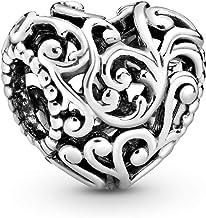 Pandora Jewelry Regal Heart Sterling Silver Charm