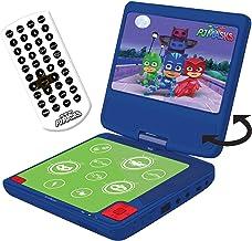 "Lexibook Pyjamasques Yoyo Lecteur DVD Portable, écran LCD 7"", 2 Haut-parleurs,.."