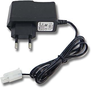 vhbw 220 V voeding oplader oplaadkabel geschikt voor RC accu met Tamiya aansluiting en een spanning van 6,0 V