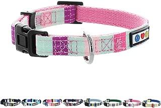 Pawtitas Pet/Puppy Soft Training Adjustable Multicolor Dog Collar