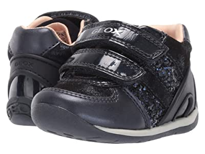 Geox Kids Each 30 (Infant/Toddler) (Navy) Girls Shoes