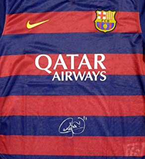 Neymar Signed Jersey - Jr. Qatar Airways Nike Size XL Stock #116597 - PSA/DNA Certified - Autographed Soccer Jerseys