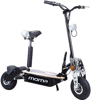"Moma Bikes Patinete eléctrico plegable urbano 2100W 10"""