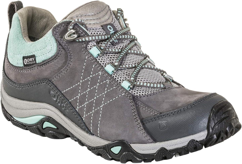 Oboz Women's Sapphire Low B-Dry Waterproof Hiking Shoe