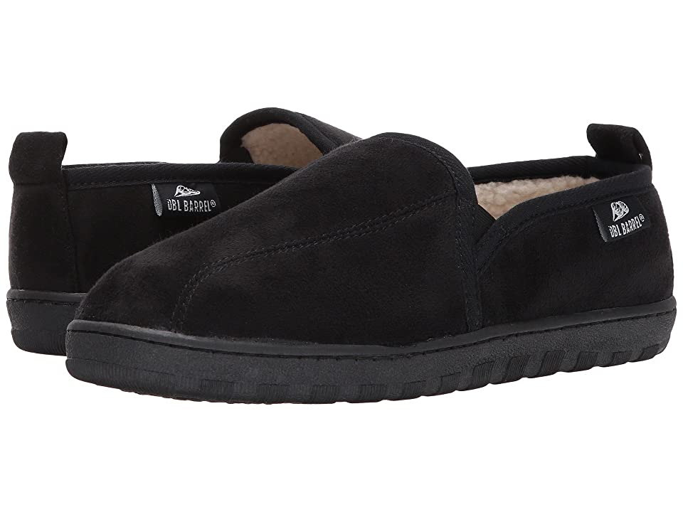 M&F Western Fleece Slip-On Slippers (Black) Men