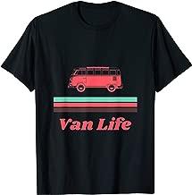 Vintage Mint & Coral Van Life  T-Shirt