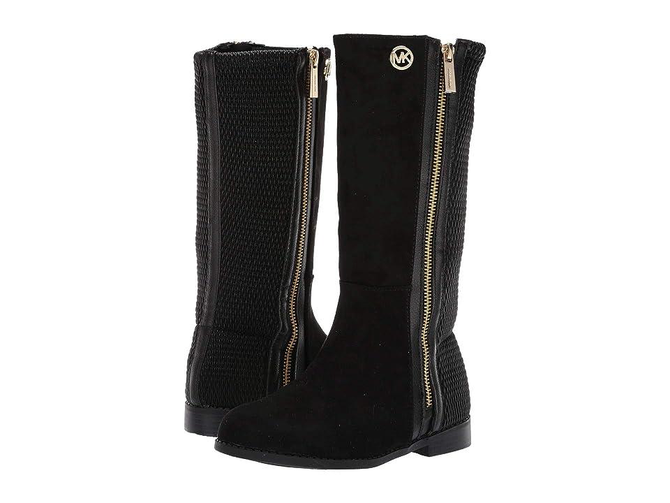MICHAEL Michael Kors Kids Emma Liz Tall (Little Kid/Big Kid) (Black) Girls Shoes