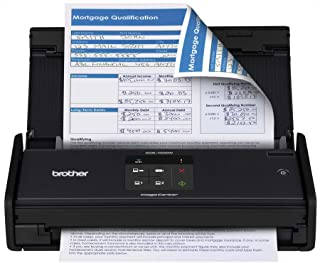 (Brother Certified Refurbished RADS1000W)-Brother ADS1000W Compact Color Desktop Scanner with Duplex and Wireless Networking