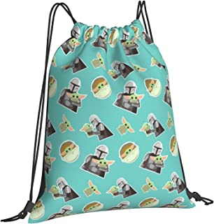 الرباط حقيبة الصالة الرياضية حقيبة الظهر للرجال النساء الفتيات الأولاد الرياضة حقيبة السفر المدرسة سلسلة حقيبة