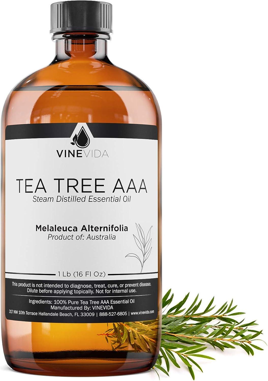 Bulk Tea Tree Essential Oil - 16 Oz Tea Tree Essential Oil in Gl