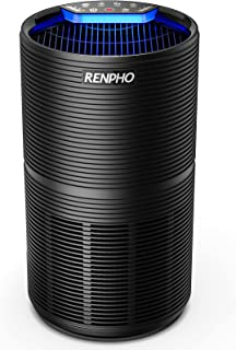 RENPHO HEPA Air Purifier for Bedroom Large Room Up to 720 Ft², H13 True HEPA Air Cleaner Filter for Home Intercepts 99.97%...