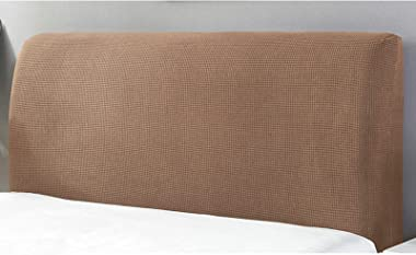 Solid Color Bed Head Cover Headboard Protector Elastic Bedside Covers All-Inclusive BedHead Dustcover Washable Headboard Cove