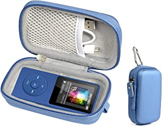 Protective case for Wireless Earbuds Charger Box Like Sony WF1000X/BM1, SOL Republic Amps and MP3 Player Like AGPTEK A01T, U1, B03, C3, Rocker V2, Iyzer 16GB, Grtdhx 16GB, Wrcibo 8GB, Mahdi, Dansrue