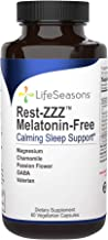 LifeSeasons - Rest-ZZZ Without Melatonin - Natural Sleep Supplement - Aids Restlessness - Maintain a Calm and Relaxed Stat...
