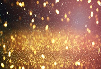 8x6.5ft Dreamlike Bokeh Colorful Haloes Golden Glitter Backdrop Polyester Wedding Photo Booth Background New Year Birthday Party Banner Child Kids Baby Adult Portrait Shoot Studio Props