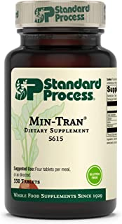 Standard Process Min-Tran - Whole Food Nervous System Supplements, Emotional Support and Stress Relief with Iodine and Mag...