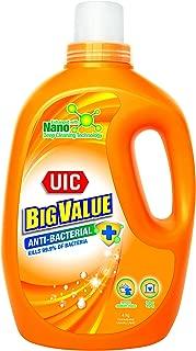 UIC Big Value Laundry Liquid Detergent (Anti-Bacterial), 4kg
