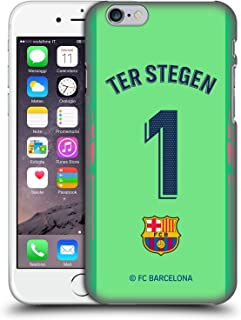 Official FC Barcelona TER Stegen 2018/19 Players Away Kit Group 1 Hard Back Case Compatible for iPhone 6 / iPhone 6s