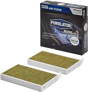 Purolator PBC41506 PurolatorBOSS Premium Cabin Air Filter with Febreze Freshness fits Select Tesla Models